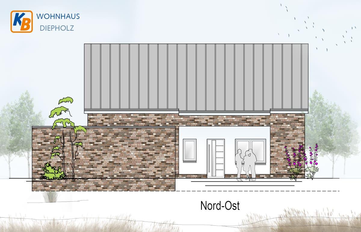 Neubau eines Wohnhauses in Diepholz - Nord-Ost