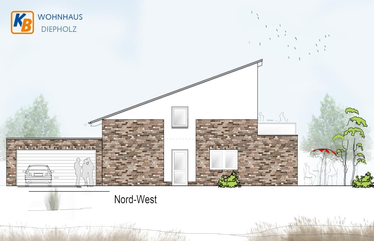 Neubau eines Wohnhauses in Diepholz - Nord-West