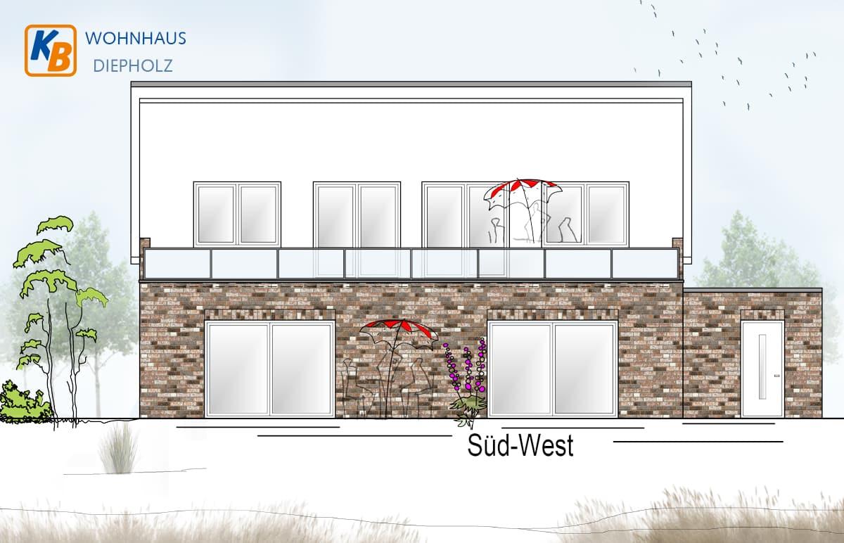 Neubau eines Wohnhauses in Diepholz - Süd West
