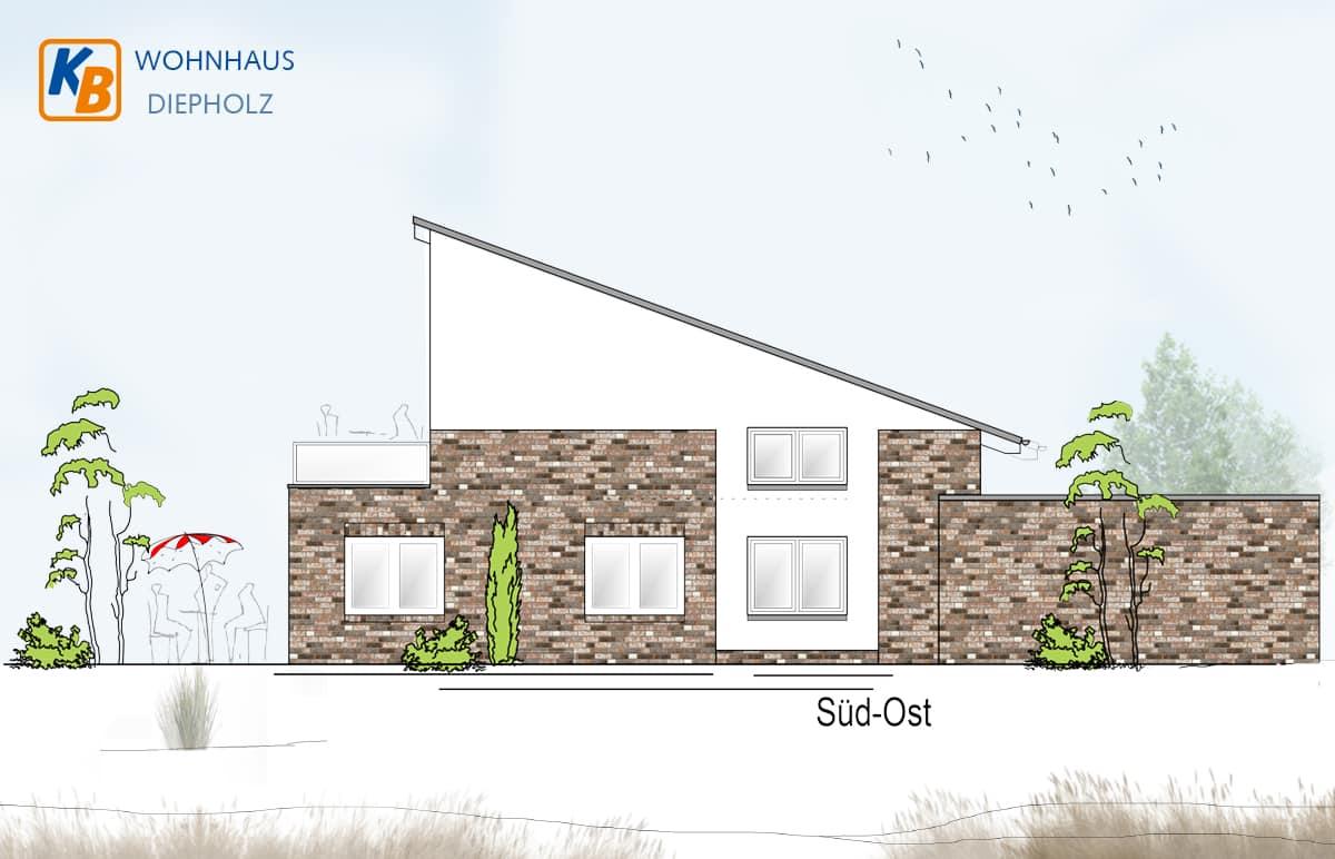 Neubau eines Wohnhauses in Diepholz - Süd-Ost