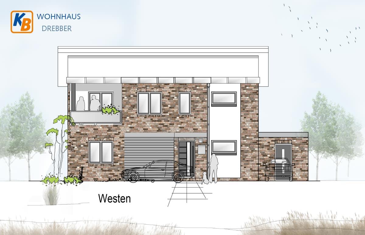 Doppelhaus Drebber westen