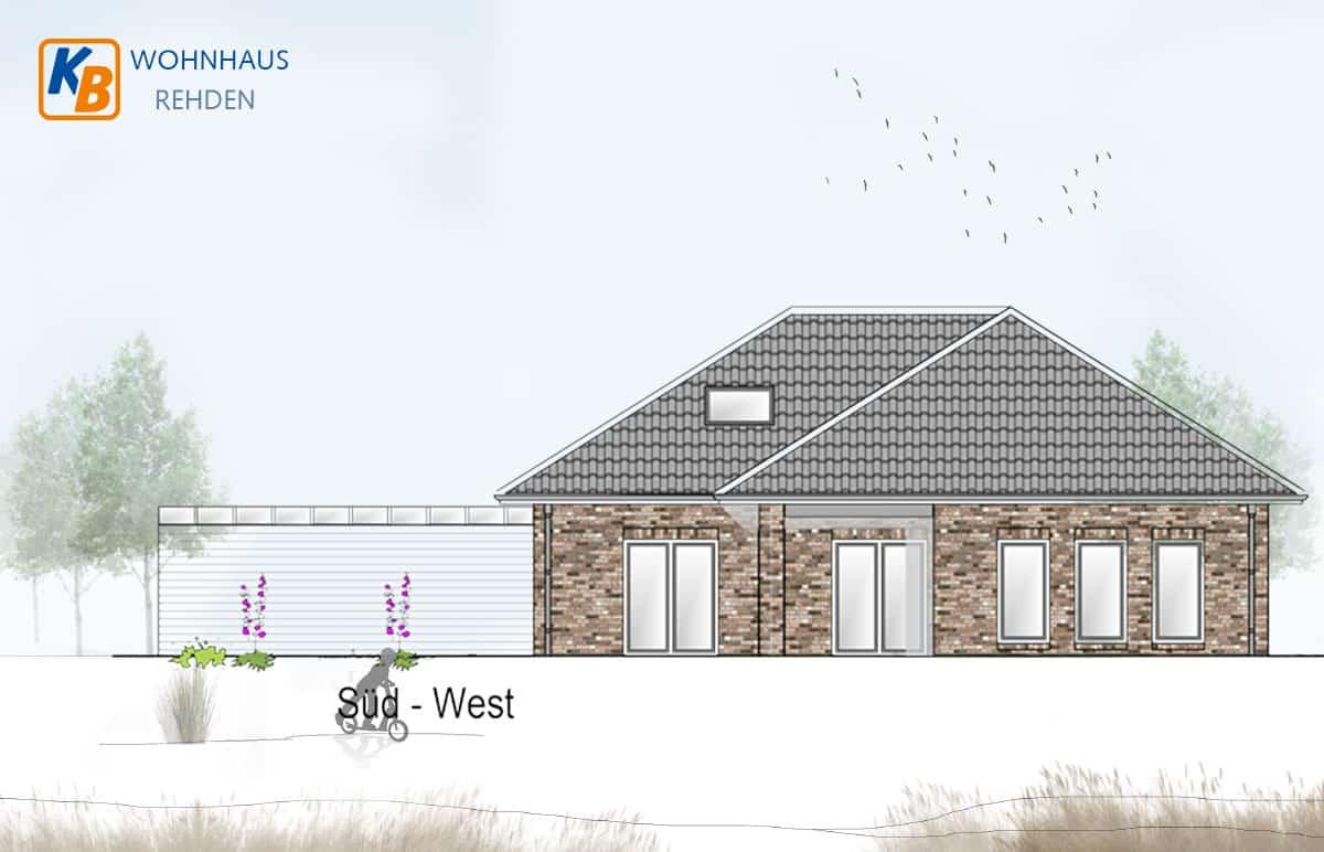 Einfamilienhaus Rehden Süd-West