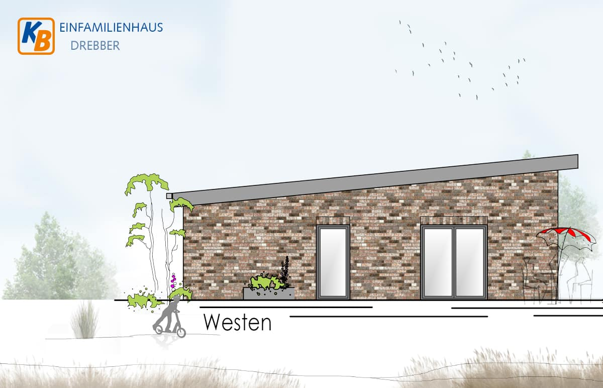 Drebber Einfamilienhaus Westen