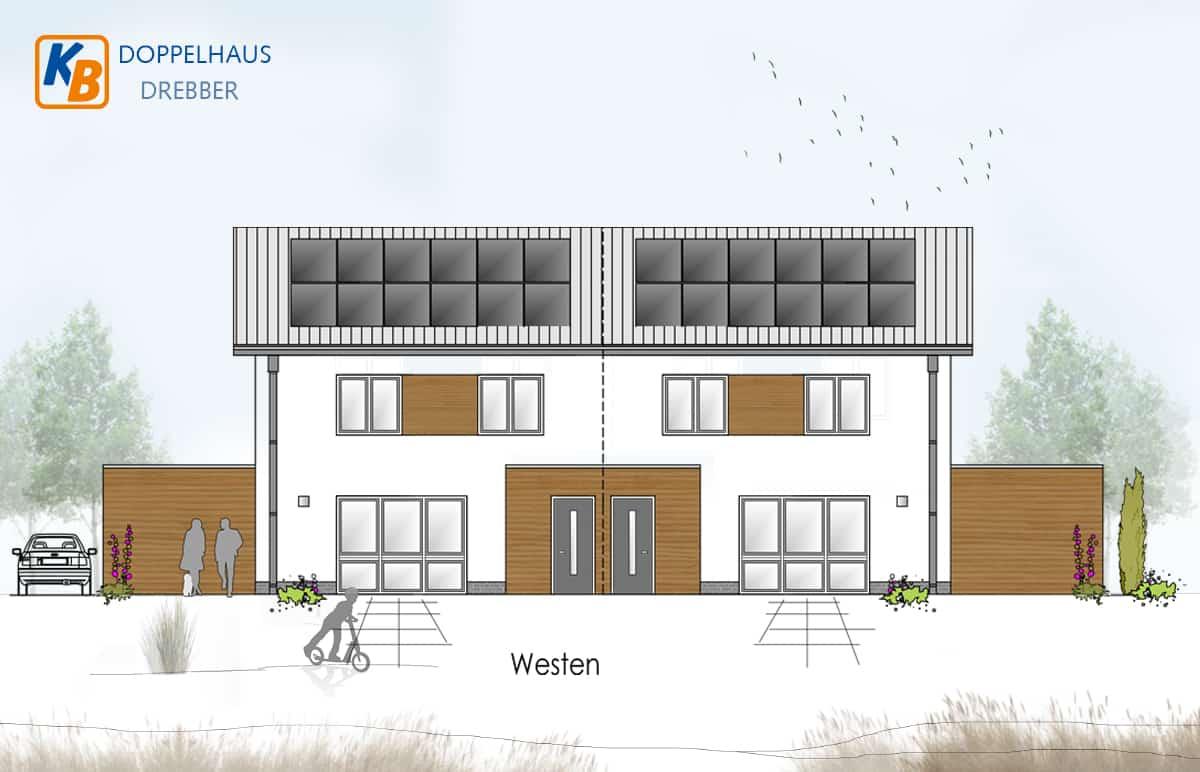 Doppelhaus Drebber Kfw40+